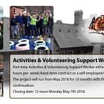 GHEF Volunteer Support & Activities Worker
