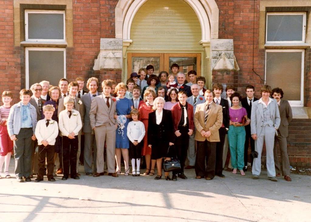 The Wedding of Mr & Mrs Johnson 23/10/1982
