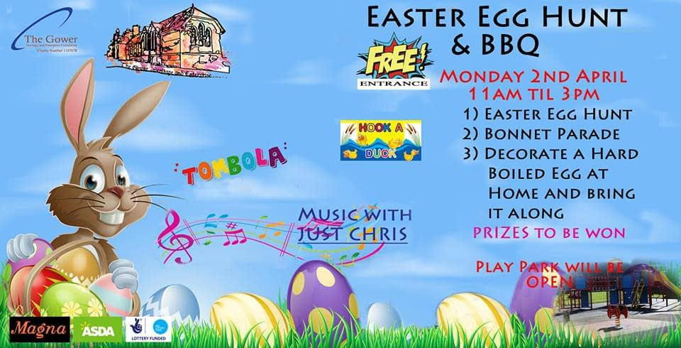 Easter Egg Hunt and Bar-B-Q at The Gower
