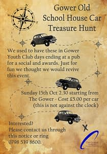 Gower Old School House Car Treasure Hunt