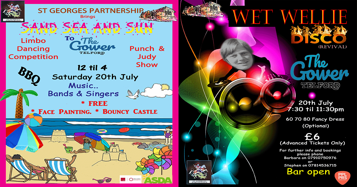Two great events on one day at The Gower