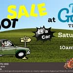 Car Boot SALE-100