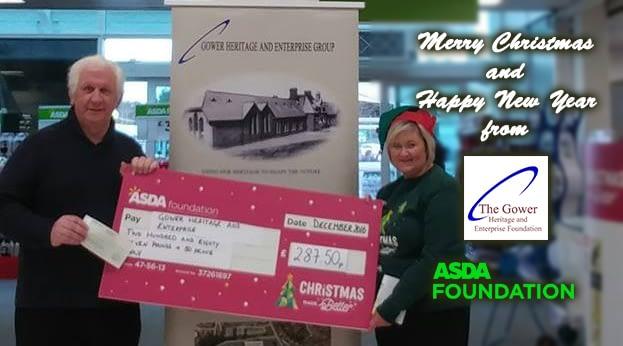 ASDA Donnington Wood donation