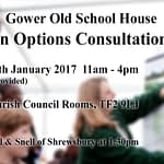 Gower Old School House Design Options Consultation Day